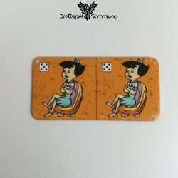 Familie Feuerstein Domino Dominokarte #26