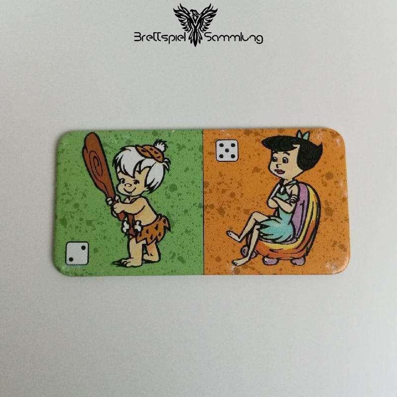 Familie Feuerstein Domino Dominokarte #8