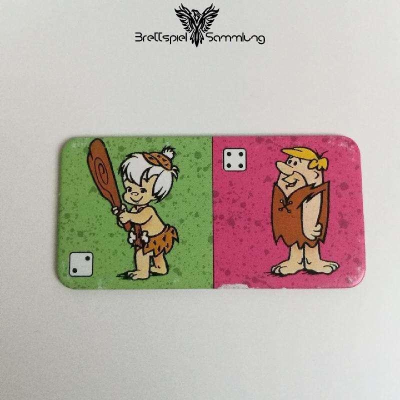 Familie Feuerstein Domino Dominokarte #3