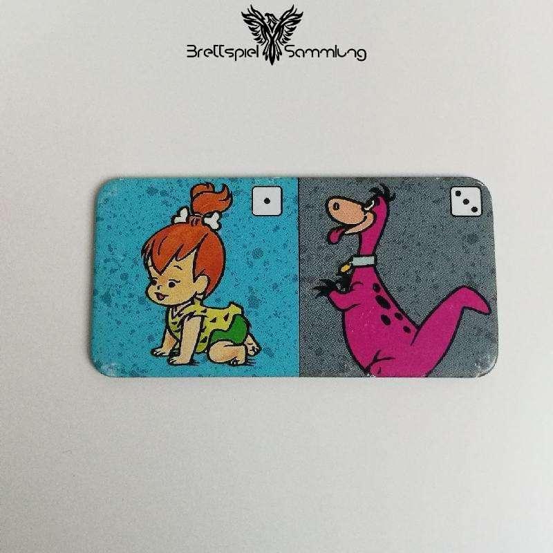 Familie Feuerstein Domino Dominokarte #1
