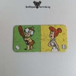 Familie Feuerstein Domino Dominokarte #25