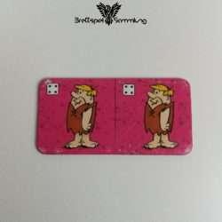 Familie Feuerstein Domino Dominokarte #24