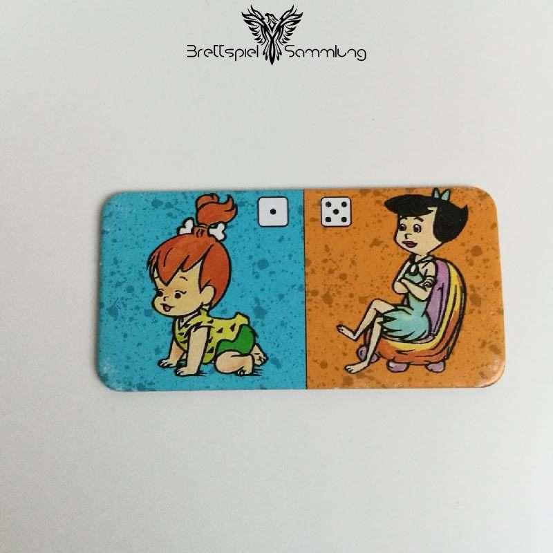 Familie Feuerstein Domino Dominokarte #23