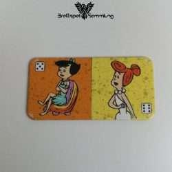 Familie Feuerstein Domino Dominokarte #22