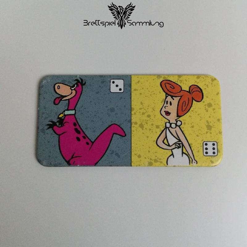 Familie Feuerstein Domino Dominokarte #20