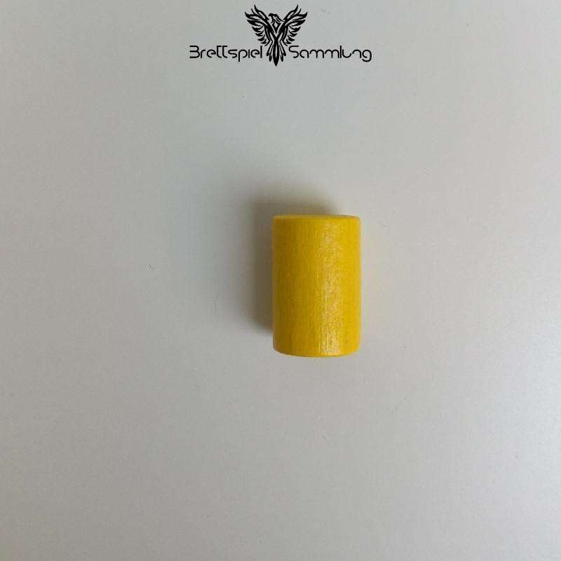 Holzzylinder Gelb