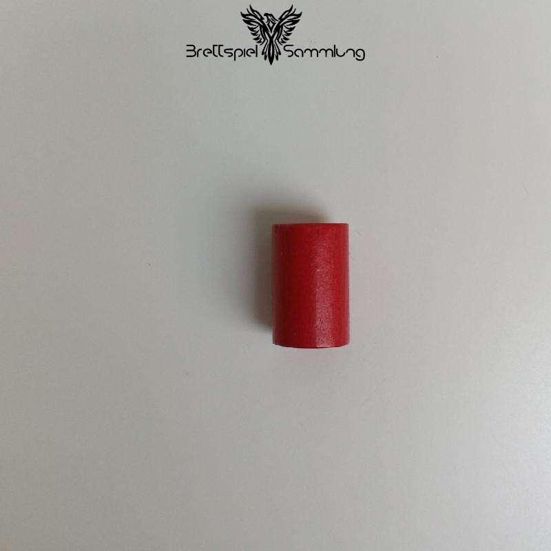 Holzzylinder Rot