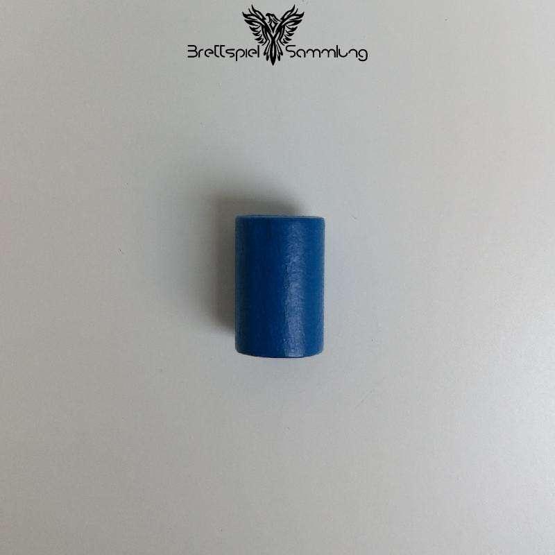 Holzzylinder Blau