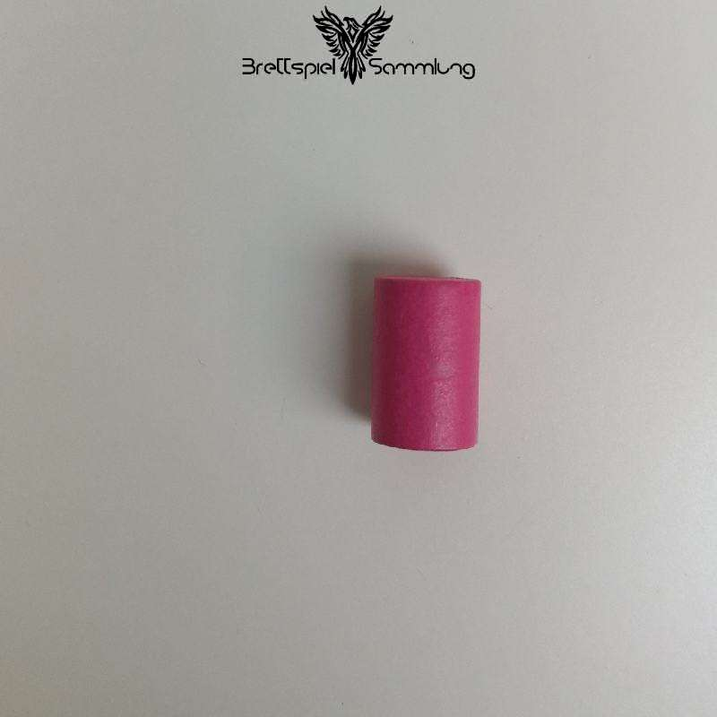Holzzylinder Pink