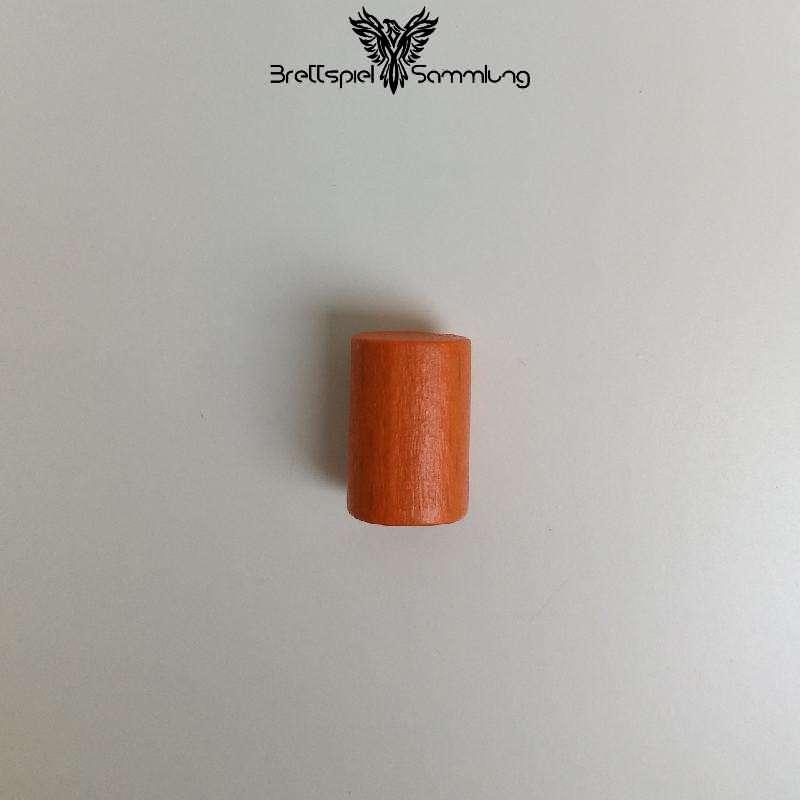 Holzzylinder Orange