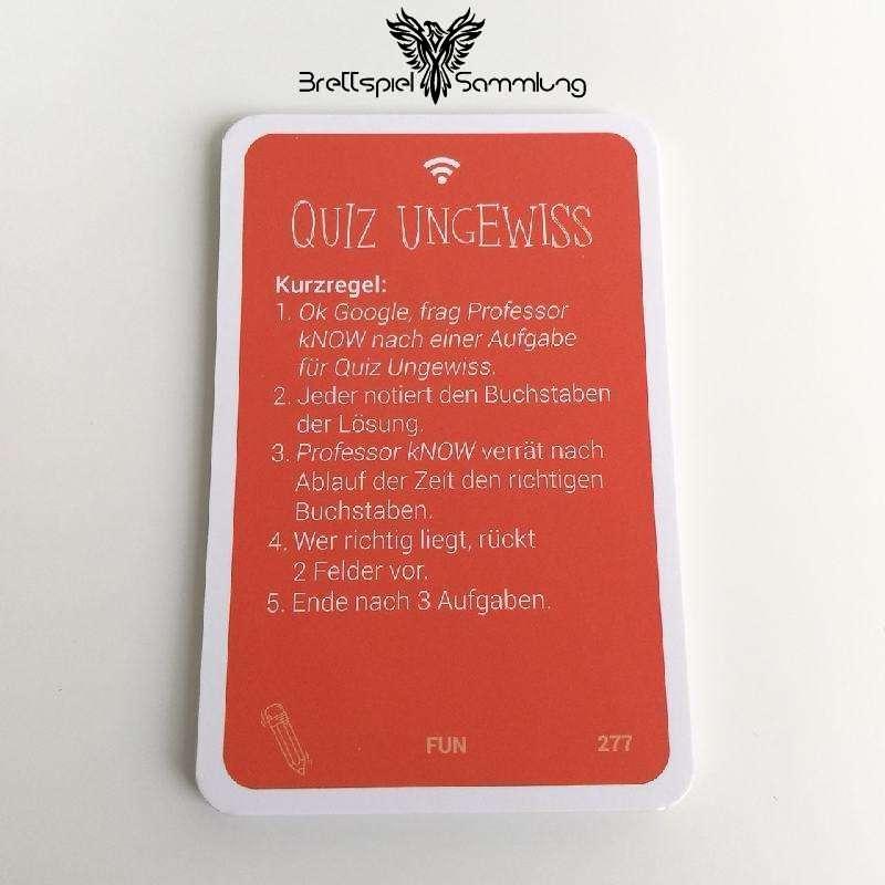 Know Quizkarten Paket Quiz Ungewiss