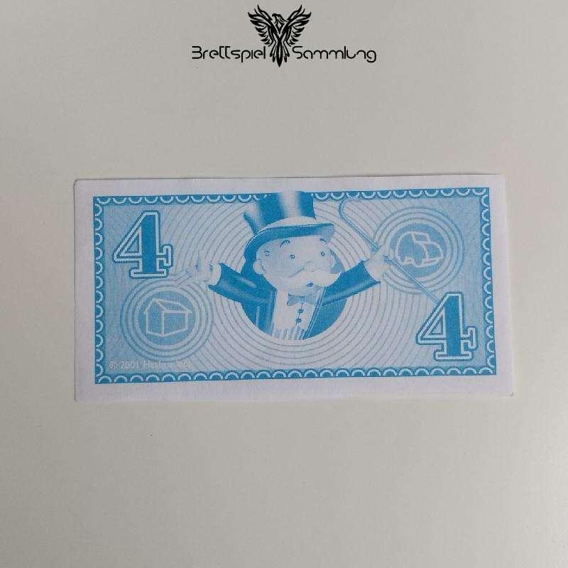 Monopoly Junior Spielgeld 4 Euro