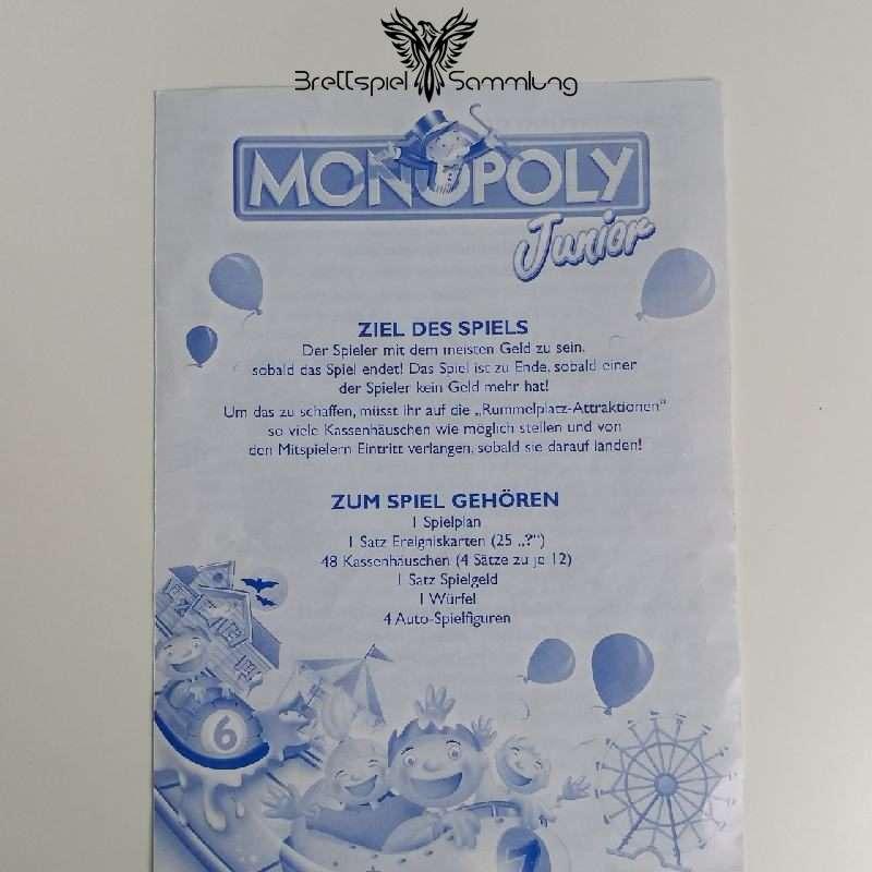 Monopoly Junior Spielanleitung #2