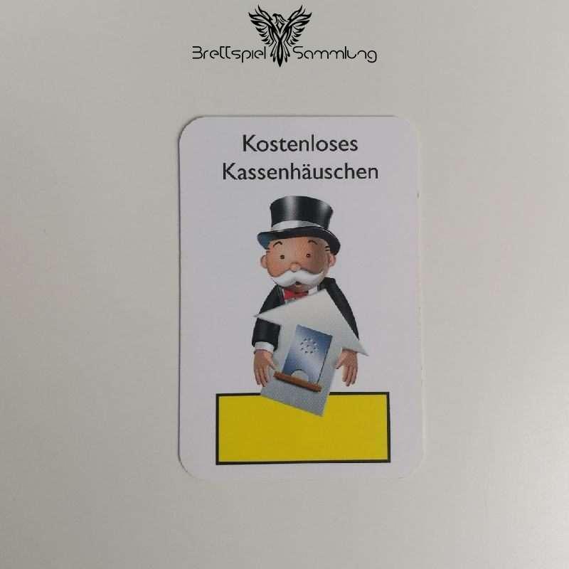 Monopoly Junior Ereigniskarte Kassenhäuschen Gelb
