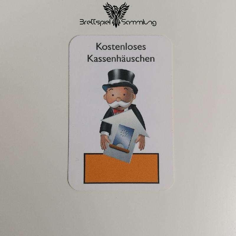 Monopoly Junior Ereigniskarte Kassenhäuschen Orange
