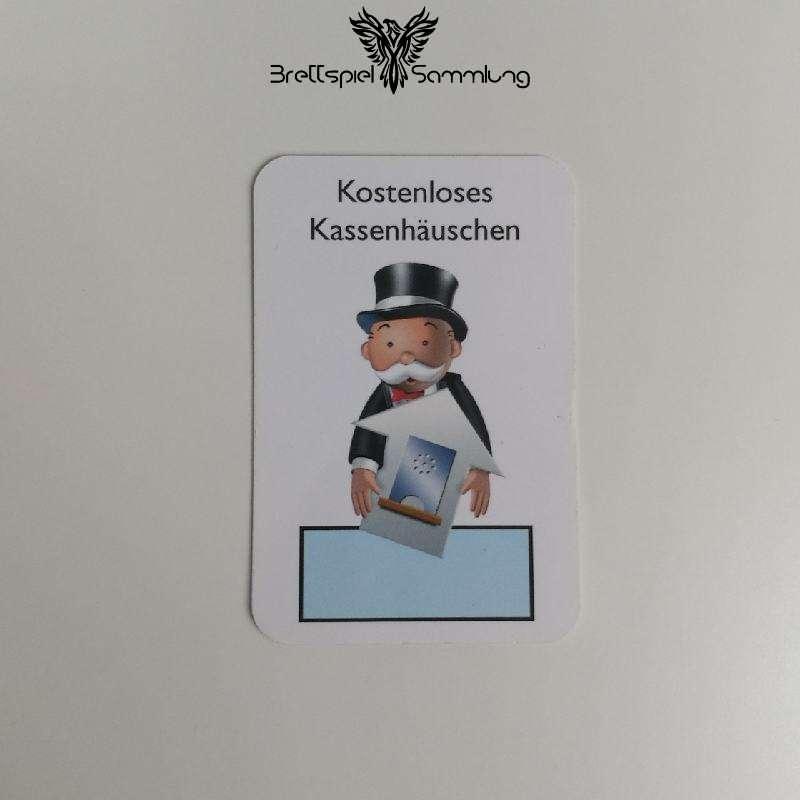 Monopoly Junior Ereigniskarte Kassenhäuschen Hellblau