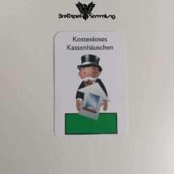 Monopoly Junior Ereigniskarte Kassenhäuschen Grün