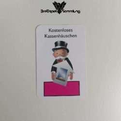 Monopoly Junior Ereigniskarte Kassenhäuschen Rosa
