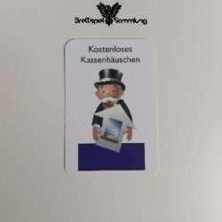 Monopoly Junior Ereigniskarte Kassenhäuschen Lila