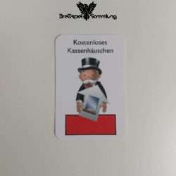 Monopoly Junior Ereigniskarte Kassenhäuschen Rot