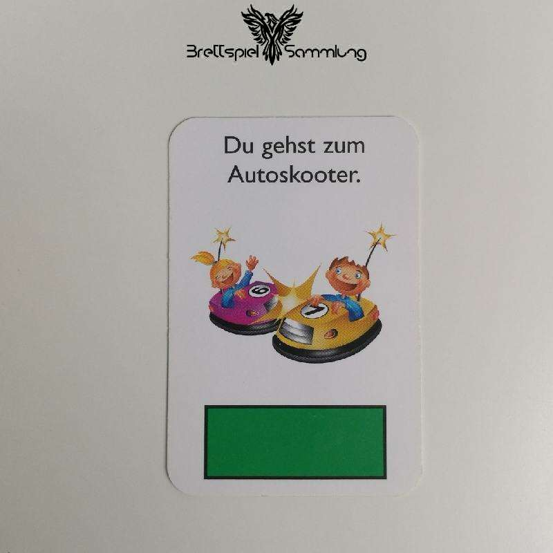Monopoly Junior Ereigniskarte Autoskooter