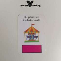 Monopoly Junior Ereigniskarte Kinderkarussell