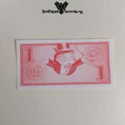 Monopoly Junior Spielgeld 1 Euro