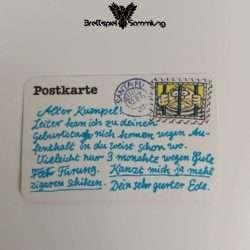 Ohne Moos Nix Los Ereigniskarte Postkarte Motiv #2