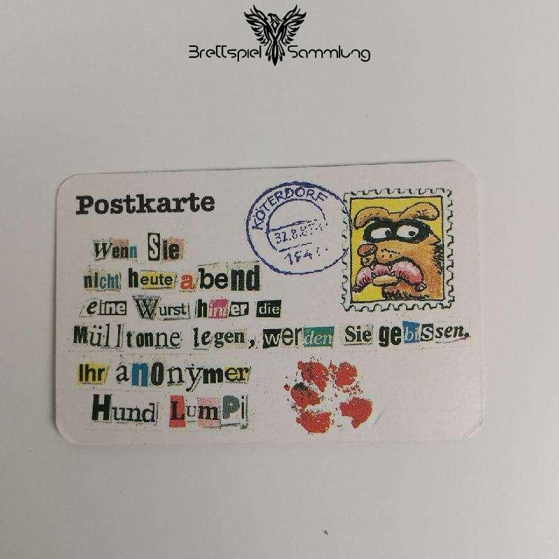 Ohne Moos Nix Los Ereigniskarte Postkarte Motiv #4