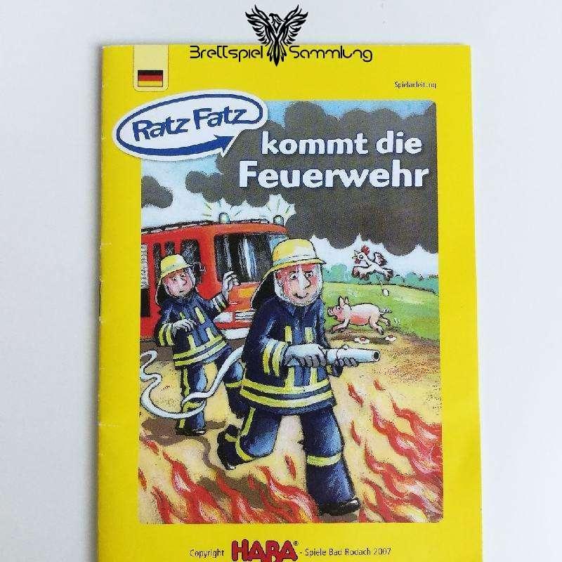 Ratz Fatz Kommt Die Feuerwehr Spielanleitung