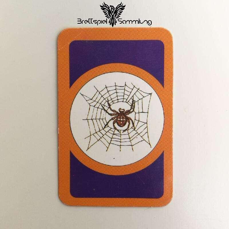 Das Verrückte Labyrinth Geheimniskarte Motiv Spinnennetz