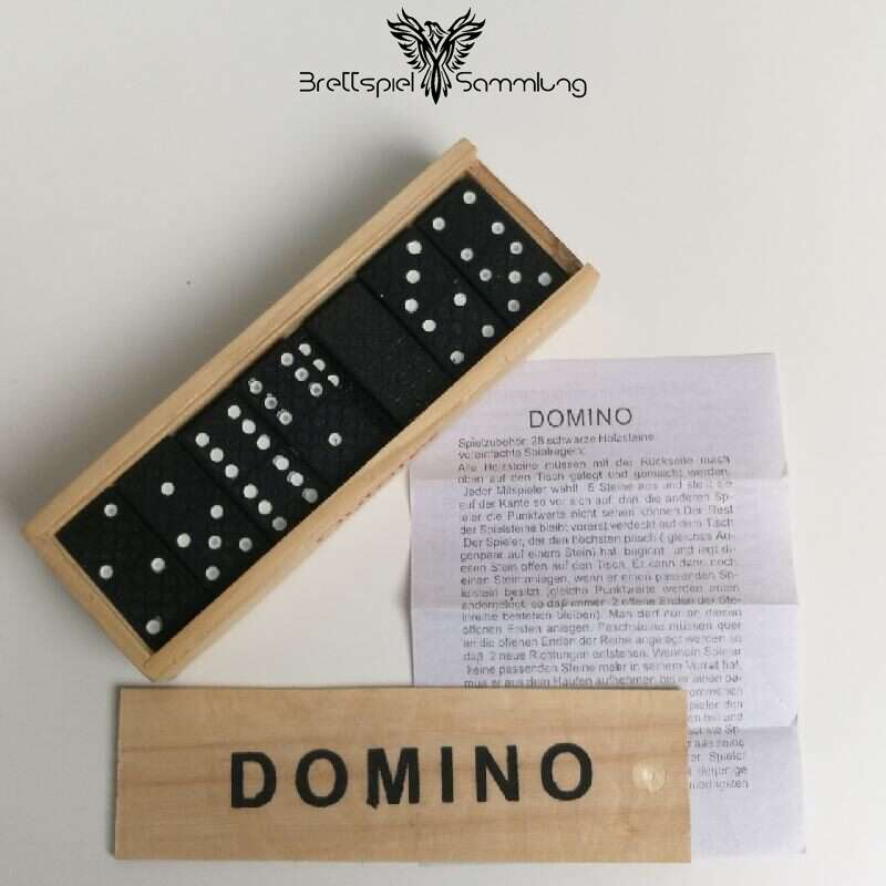 Domino Holzbox