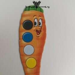 Lotti Karotti Merkspiel Karottenkarte #11