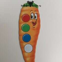 Lotti Karotti Merkspiel Karottenkarte #10