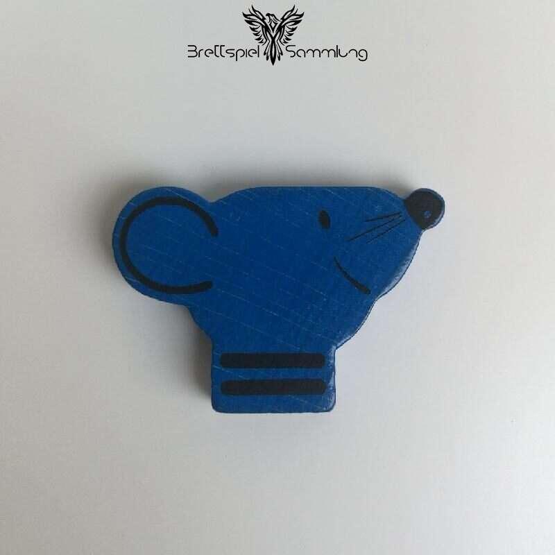 Mause Loch Maus Blau