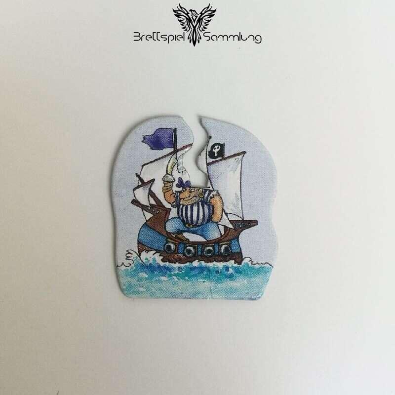 Piraten Auf Schatzsuche Piratenschiff Blau