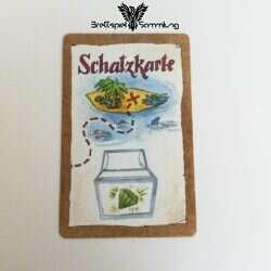 Piraten Auf Schatzsuche Schatzkarte #1
