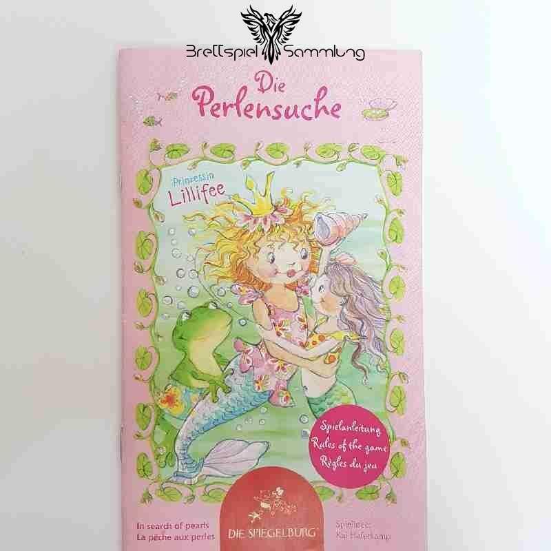 Prinzessin Lillifee Die Perlensuche Spielanleitung