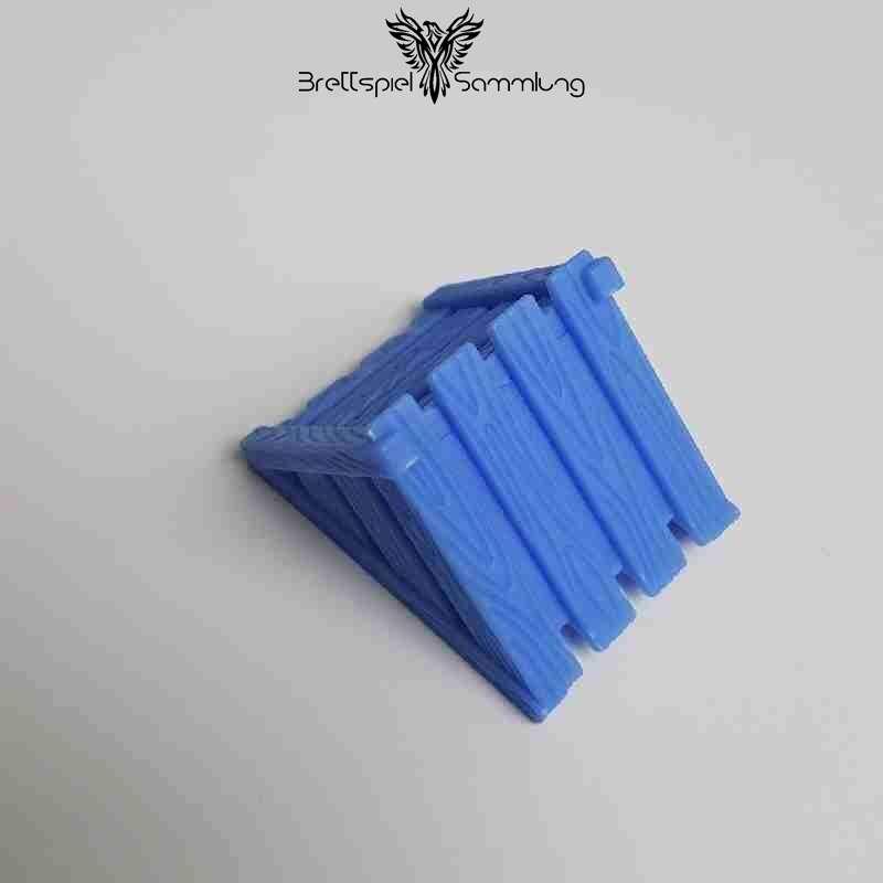 Paules Papageienfloß Kiste Blau