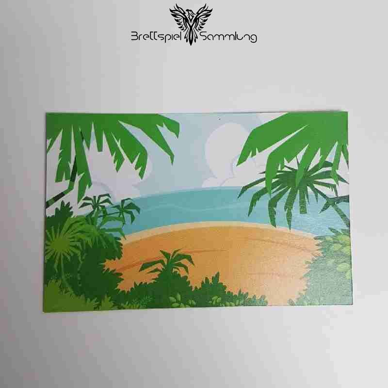 Paules Papageienfloß Strandkarte