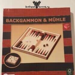 Backgammon Und Mühle Neu