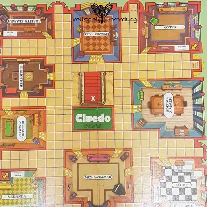 Cluedo Das Klassische Detektivspiel Spielbrett