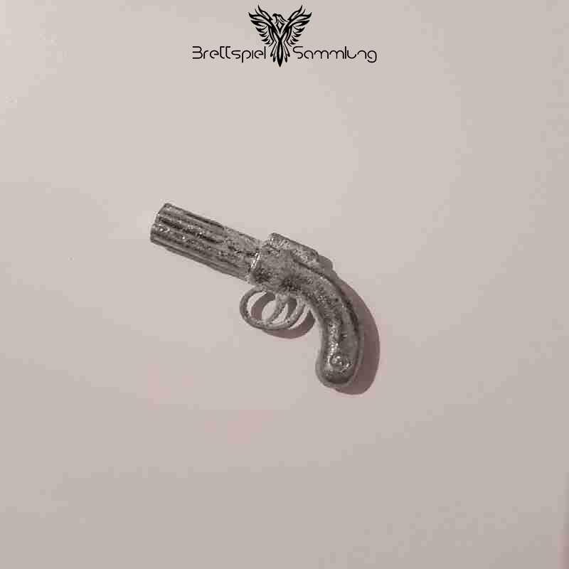 Cluedo Das Klassische Detektivspiel Tatwaffe Pistole