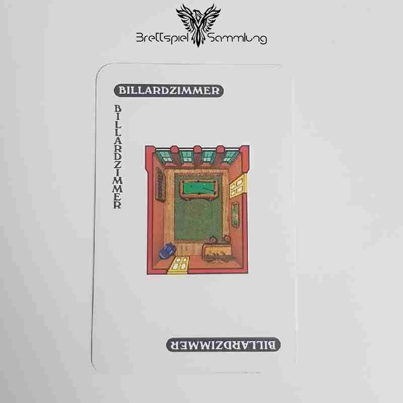 Cluedo Das Klassische Detektivspiel Karte Billardzimmer