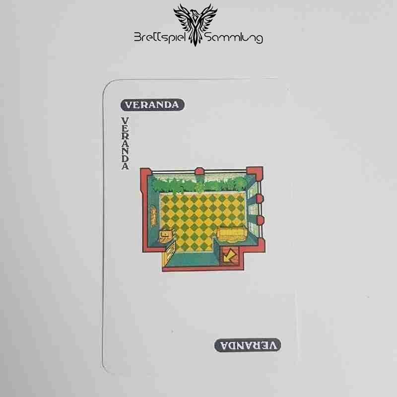 Cluedo Das Klassische Detektivspiel Karte Veranda