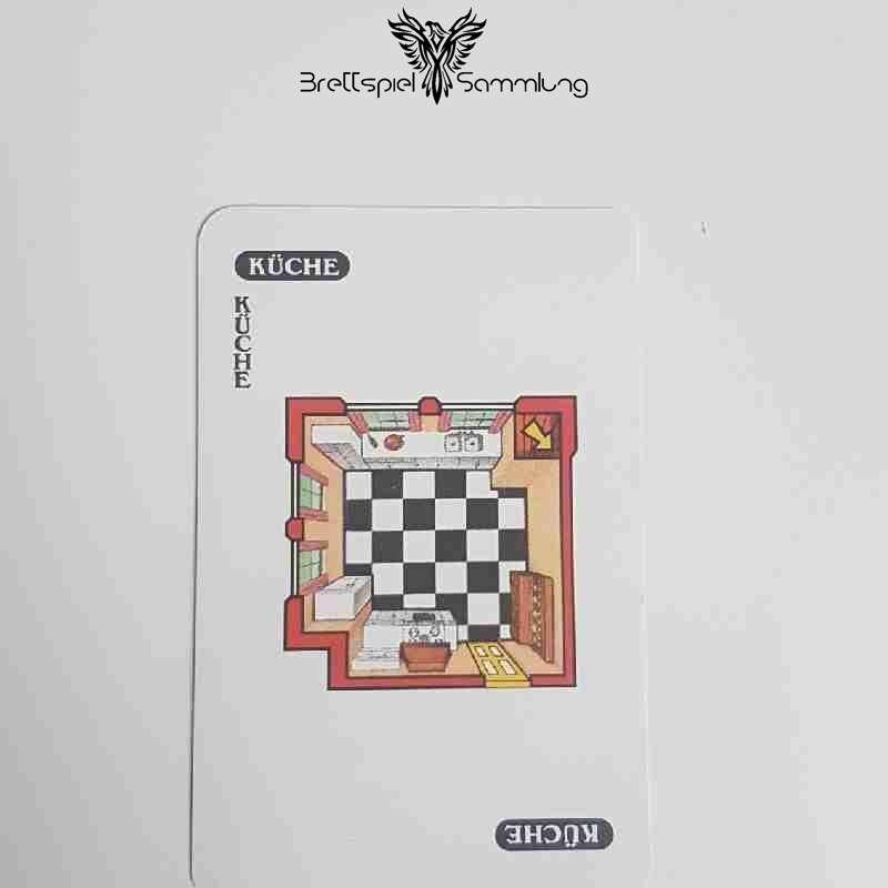 Cluedo Das Klassische Detektivspiel Karte Küche