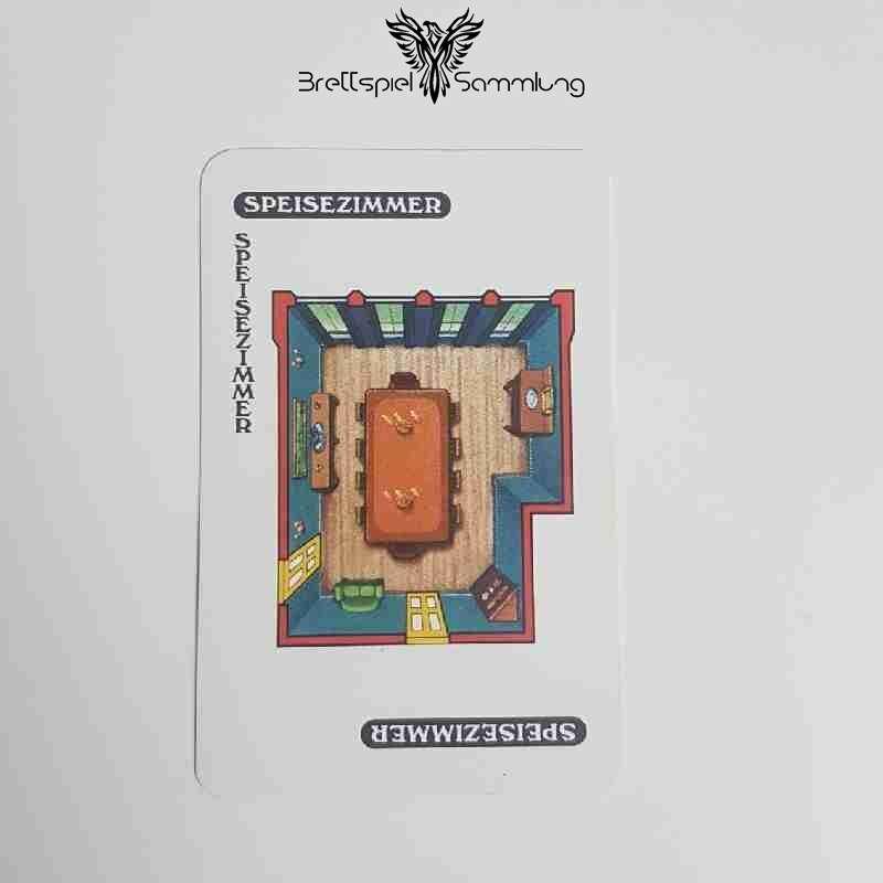 Cluedo Das Klassische Detektivspiel Karte Speisezimmer