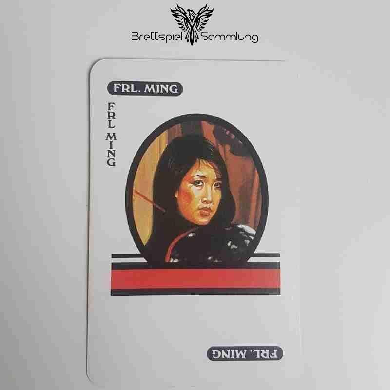 Cluedo Das Klassische Detektivspiel Karte Fräulein Ming