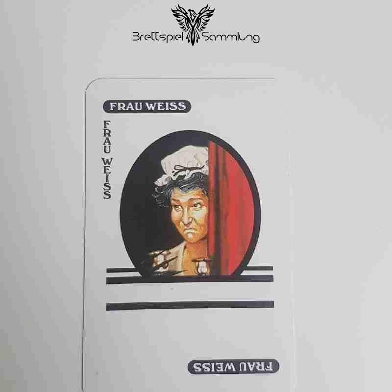 Cluedo Das Klassische Detektivspiel Karte Frau Weiss