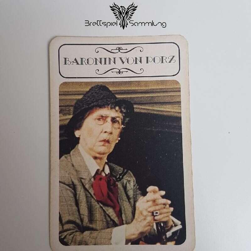 Cluedo Was Geschah Mit Graf Eutin Karte Baronin Von Porz